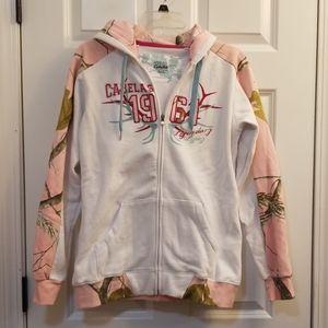 Cabela's Zip-Up Camo Sweatshirt